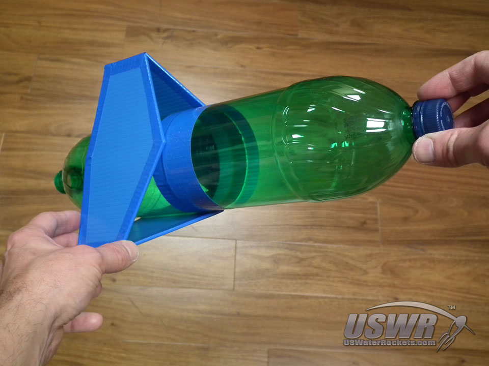 How To Build Removable Box Fins For Your Water Rocket