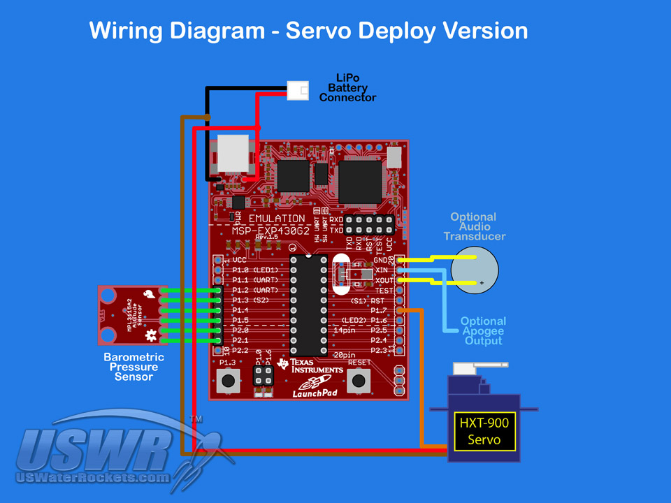 Servo_Diagram uswaterrockets com launchpad altimeter construction, programming Basic Electrical Wiring Diagrams at crackthecode.co